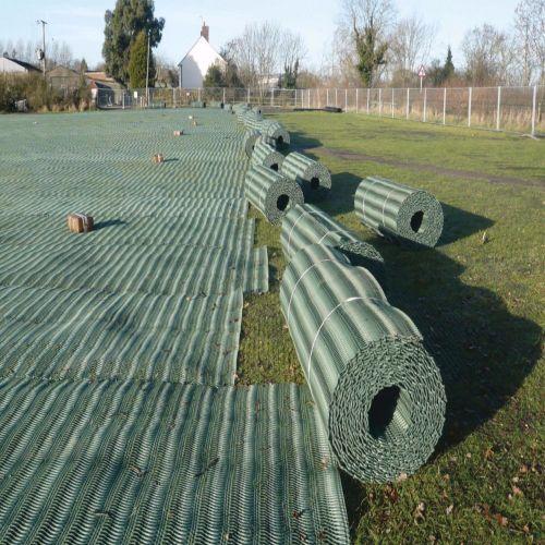 Woven Geotextile Membrane Geotec 90 Terram Equivalent 4.5m x 100m Roll